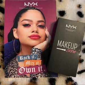 ⭐️NYX Makeup Crew Soft Matte Lipsticks-California